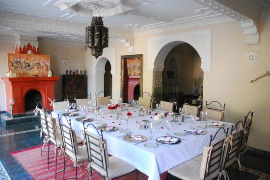 Villa Amaryllis : salle à manger