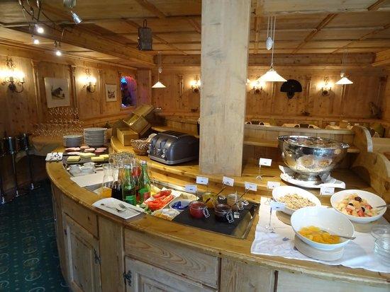 Hotel Fahrner: petit déjeuner