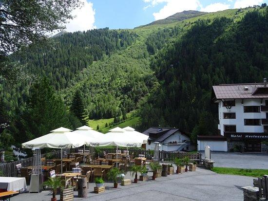 Hotel Fahrner: terrasse du diner
