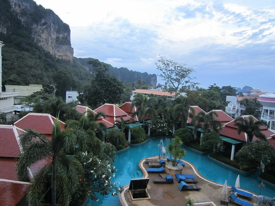 Aonang Orchid Resort: The view from our room