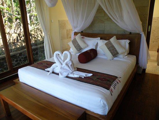 Munduk Moding Plantation : slaapkamer