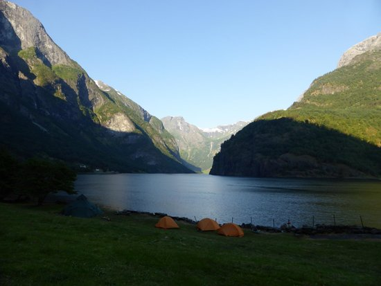 Njord - Seakayak and Wilderness Adventure Day Tours: Campsite at the fjord