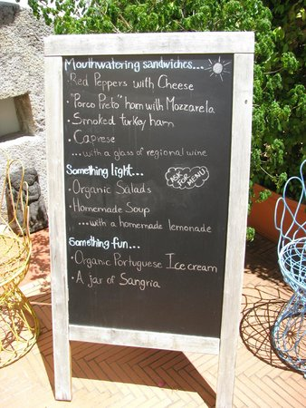 Albergaria do Calvario : Menu