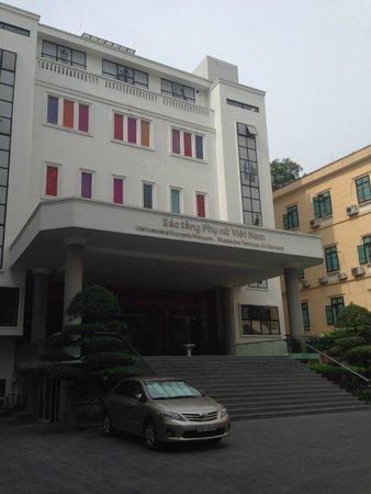 Musée des femmes du Viêt Nam : Outside of the building