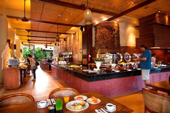 Ramayana Resort & Spa: Buffet Breakfast