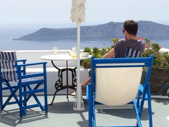 Artemis Villas: Our terrace