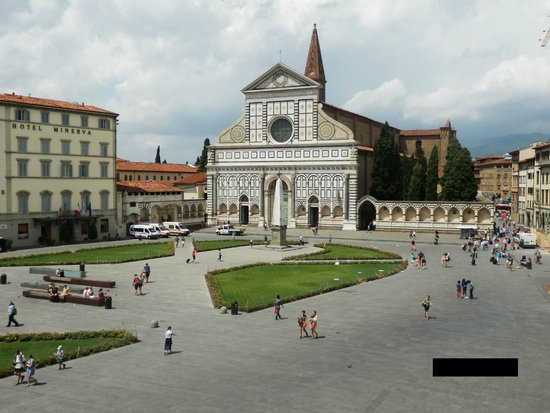 Santa Maria Novella Hotel: View of Piazza from my room