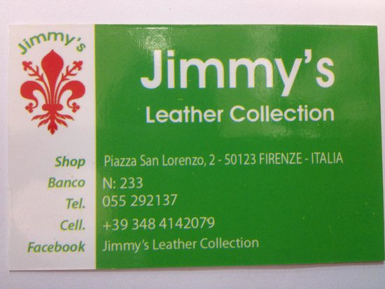 ‪Jimmy's Leather Collection‬