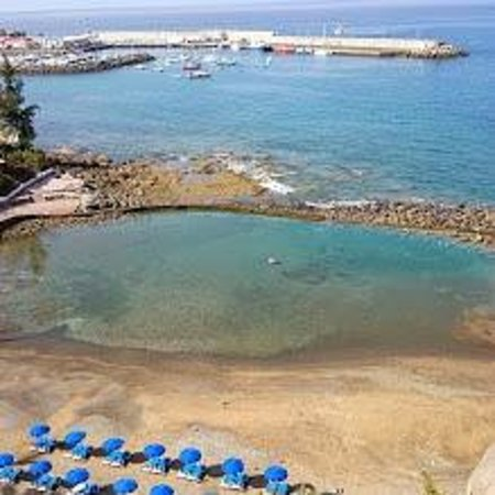 Bull Dorado Beach & Spa : Tidal Pool beside the hotel
