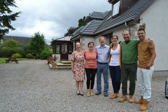 Kilmore Farmhouse: Con los propietarios