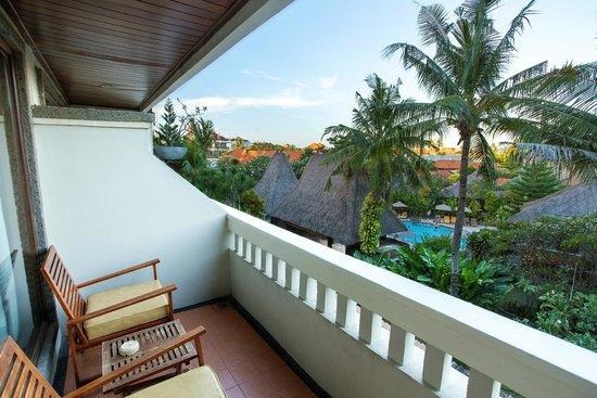 Ramayana Resort & Spa: Resort view from Deluxe
