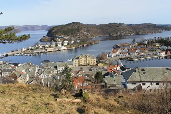 Farsund in Southern Norway
