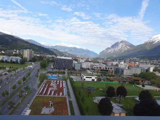 Ramada Innsbruck Tivoli : View from terrace