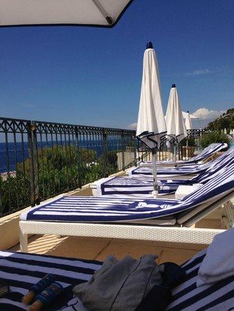 Grand-Hotel du Cap-Ferrat: Pool Terrace