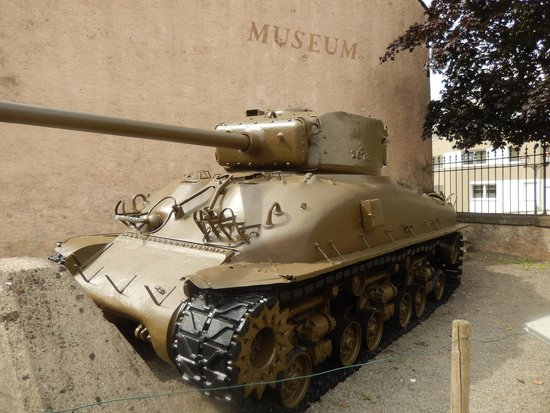 National Museum of Military History : USA tank