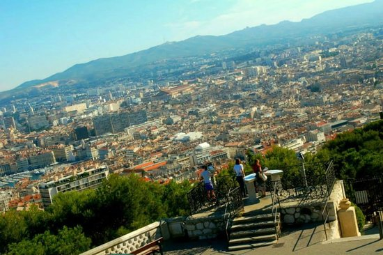 Basilique Notre Dame de la Garde: View of the city