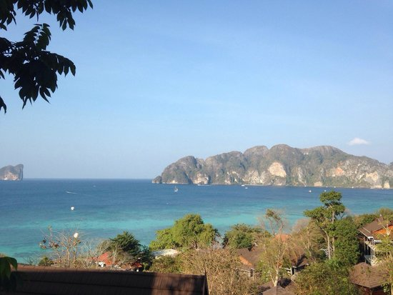 Phi Phi The Beach Resort: View from the Superior Villa (with sea view)