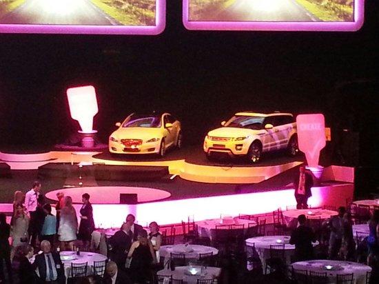 Royal Albert Hall: Jaguar Land Rover sponsored event at RAH