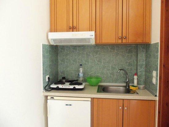Falasarna Beach Studios&Apartments: Миникухня