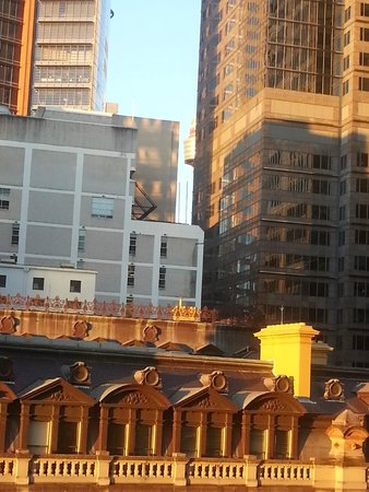 InterContinental Sydney: View from my room - city view