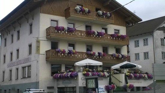 Hotel Lamm : la facciata esterna