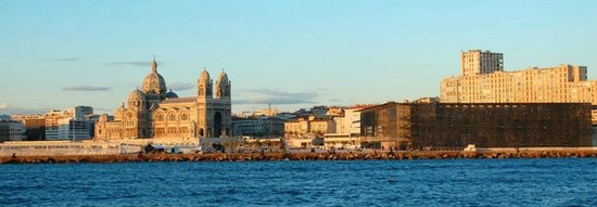 Frioul If Express : Marseille's view from Ile de Frioul