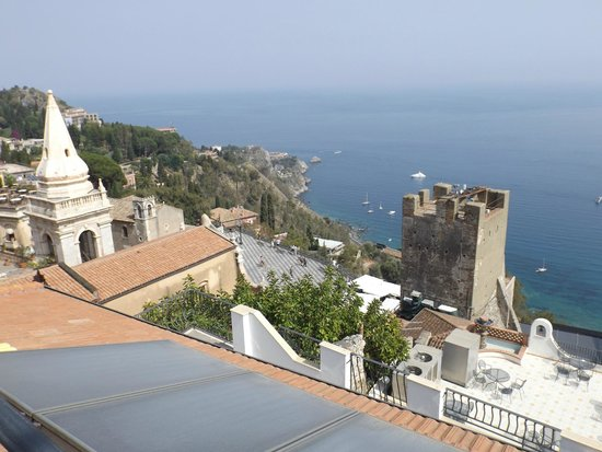 Vello D'Oro Hotel: Uitzicht vanuit kamer