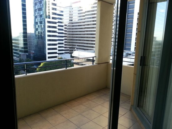 The Sebel Brisbane: Balcony out from room