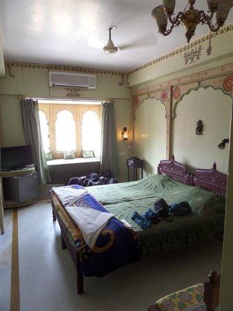 Hotel Haveli Jodhpur : Kamer