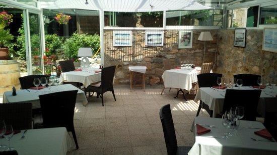 The Clos Restaurant : la véranda