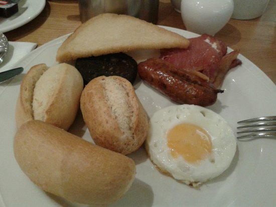 Strand Palace Hotel: desayuno inglés