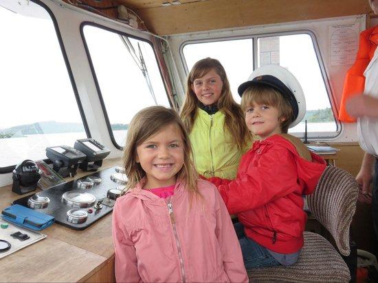 Ashford Castle: Loch cruise with Captain Luskin