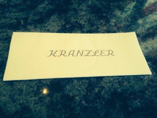 Cafe Kranzler: Салфетка
