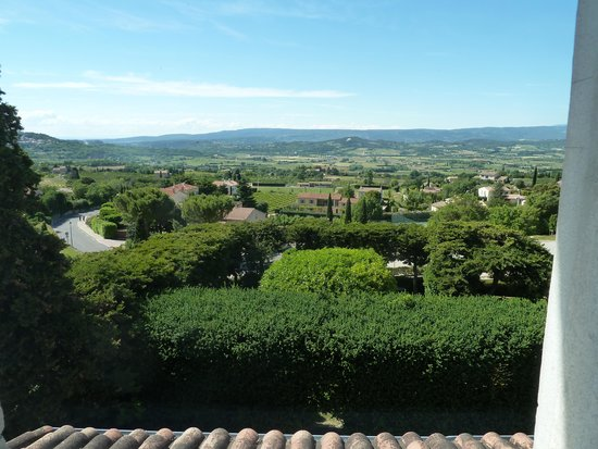 Le Clos du Buis: Breathtaking views from bedroom window