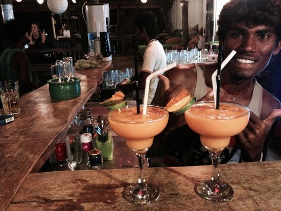 Gecko Restaurant and Rooms: Probably best mango daiquiri ever !!!!