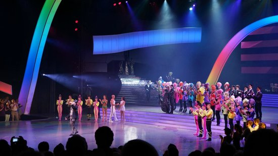Friedrichstadt-Palast: The end of the show