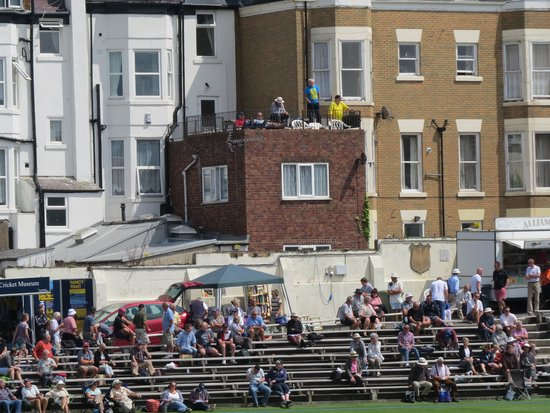 Scarborough Cricket Club: A free view for neighbours
