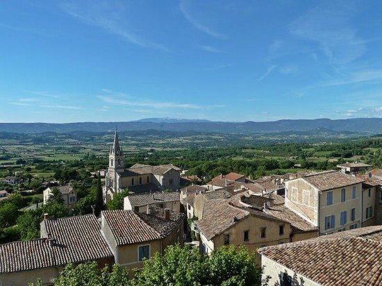 Le Clos du Buis : View from Lookout