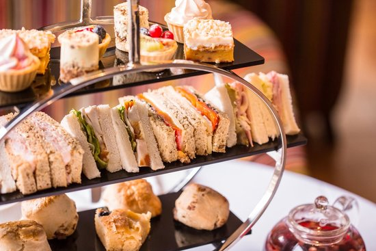 Afternoon Tea at Europa Hotel - Belfast: Afternoon Tea at the Europa Hotel in Belfast
