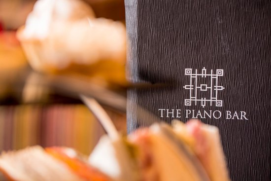 Afternoon Tea at Europa Hotel - Belfast: Piano Bar Menu