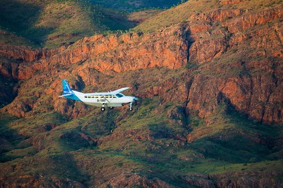 Aviair tour on route to the Bungle Bungles