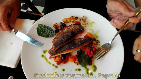 Motto am Fluss: Fischfilets zu cross