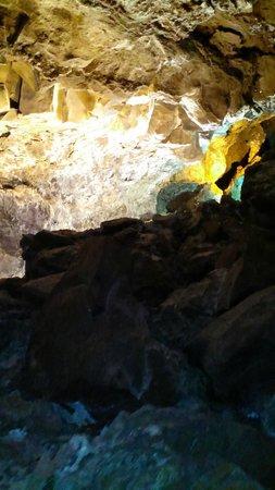 Cueva de los Verdes: Cueva