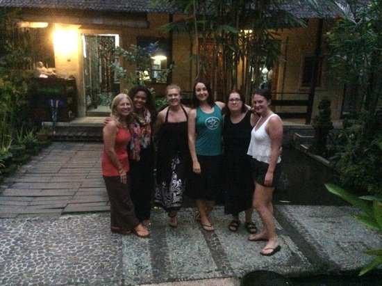 Ubud Sari Health Resort: Wonderful friends
