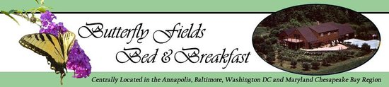 Butterfly Fields Bed and Breakfast: We are short 20 minute drive from Washington DC