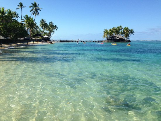 The Warwick Fiji: area to canoe/kayak & snorkel
