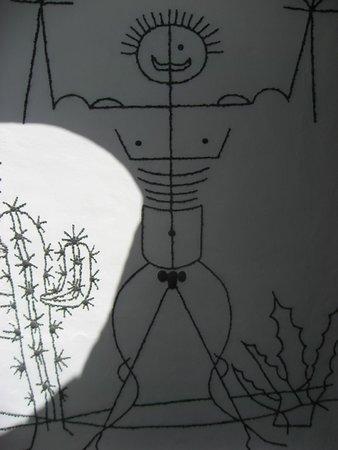 Jardin de Cactus : Baño
