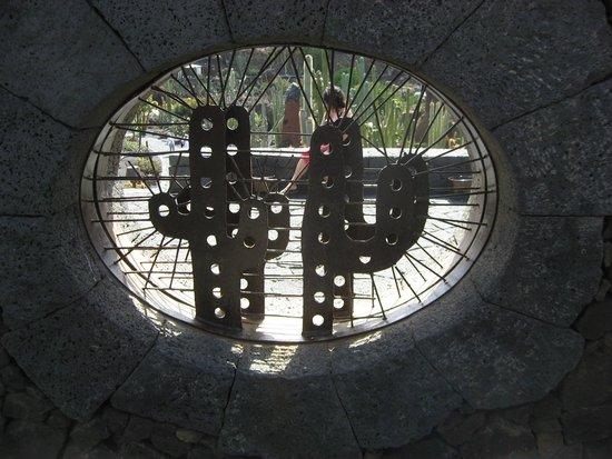 Jardin de Cactus : Entrada