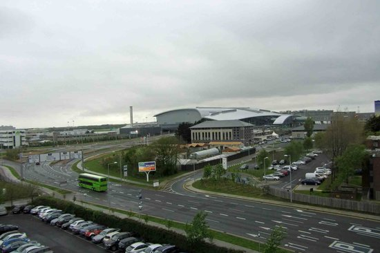 Radisson Blu Hotel, Dublin Airport: View from hotel window