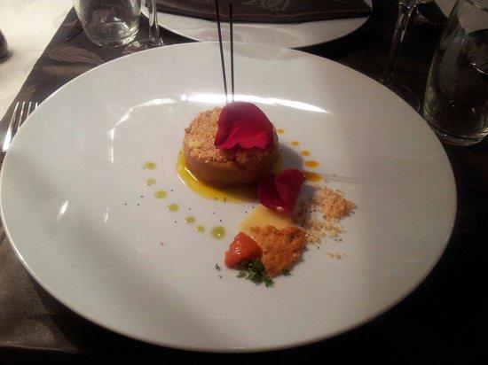 Le Bicorne: Foie gras poele